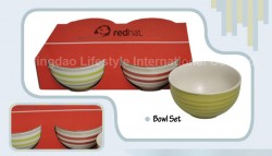4pcs handpainted bowl set – B-001