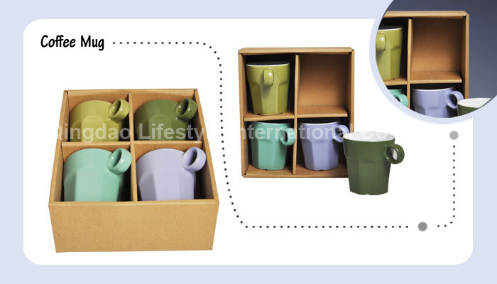 4pcs solid solor mug set – M-009
