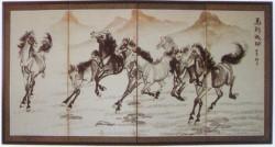 Silk Screen – F-3037 176×88cm