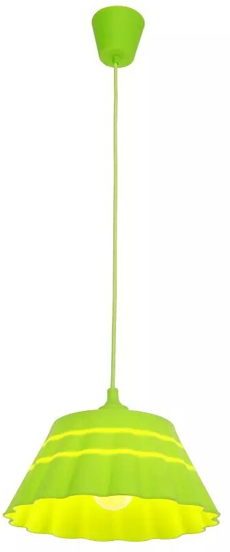 Silicone Pendant Lamp BGA-S13 Green
