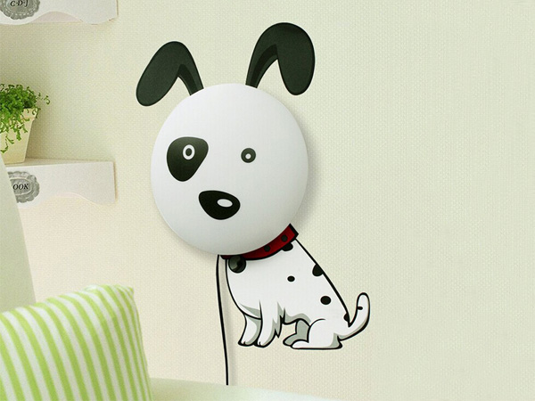 Dog Wall Stickers Lamp