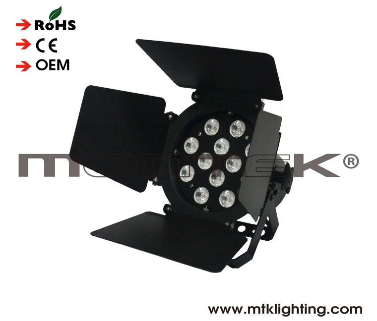 LED Pin Spot 12*1W_Stage lighting